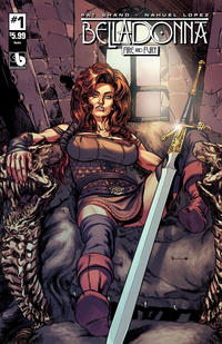 Cover Thumbnail for Belladonna: Fire and Fury (Avatar Press, 2017 series) #1 [Noble Cover]