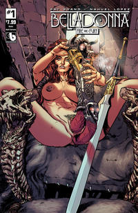 Cover Thumbnail for Belladonna: Fire and Fury (Avatar Press, 2017 series) #1 [Noble Adult Extreme]