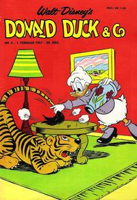 Cover Thumbnail for Donald Duck & Co (Hjemmet / Egmont, 1948 series) #5/1967