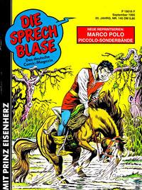 Cover Thumbnail for Die Sprechblase (Norbert Hethke Verlag, 1978 series) #145