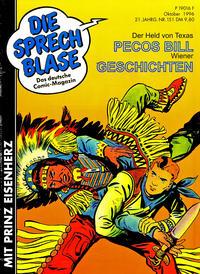 Cover Thumbnail for Die Sprechblase (Norbert Hethke Verlag, 1978 series) #151