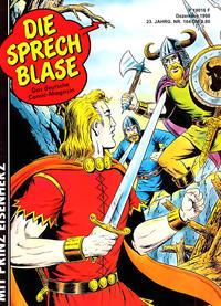 Cover Thumbnail for Die Sprechblase (Norbert Hethke Verlag, 1978 series) #164