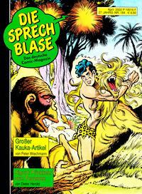 Cover Thumbnail for Die Sprechblase (Norbert Hethke Verlag, 1978 series) #184