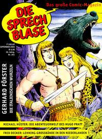 Cover Thumbnail for Die Sprechblase (Norbert Hethke Verlag, 1978 series) #201