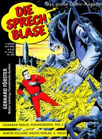Cover Thumbnail for Die Sprechblase (Norbert Hethke Verlag, 1978 series) #204
