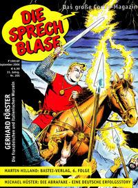 Cover Thumbnail for Die Sprechblase (Norbert Hethke Verlag, 1978 series) #205