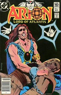 Cover Thumbnail for Arion, Lord of Atlantis (DC, 1982 series) #5 [Canadian]