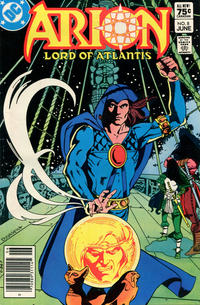 Cover Thumbnail for Arion, Lord of Atlantis (DC, 1982 series) #8 [Canadian]