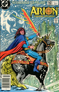 Cover Thumbnail for Arion, Lord of Atlantis (DC, 1982 series) #9 [Canadian]
