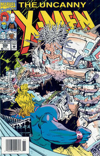 Cover for The Uncanny X-Men (Marvel, 1981 series) #306