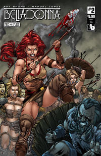 Cover for Belladonna: Fire and Fury (Avatar Press, 2017 series) #2