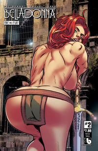 Cover Thumbnail for Belladonna: Fire and Fury (Avatar Press, 2017 series) #2 [Glorious Topless Cover]