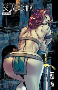 Cover Thumbnail for Belladonna: Fire and Fury (Avatar Press, 2017 series) #2 [Glorious Skimpy Cover]