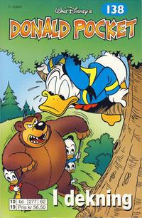Cover Thumbnail for Donald Pocket (Hjemmet / Egmont, 1968 series) #138 - I dekning [3. utgave bc 277 62]