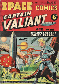 Cover Thumbnail for Space Comics (Arnold Book Company, 1953 series) #68