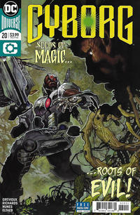 Cover Thumbnail for Cyborg (DC, 2016 series) #20 [Simone Bianchi Cover]