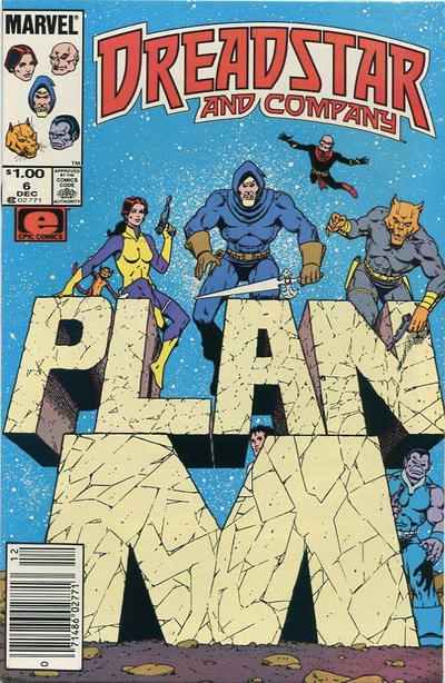 Cover for Dreadstar and Company (Marvel, 1985 series) #6 [Canadian]