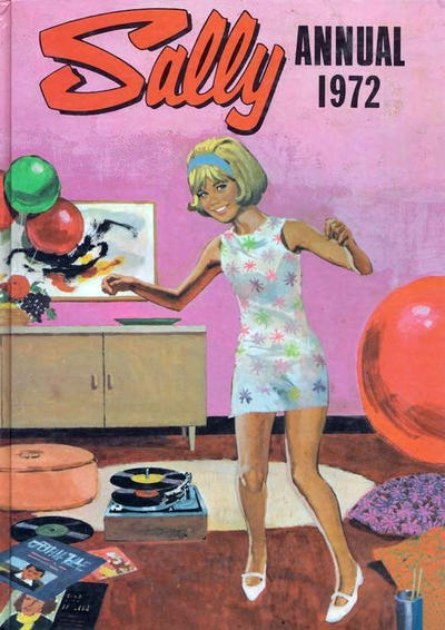 Cover for Sally Annual (IPC, 1971 series) #1972
