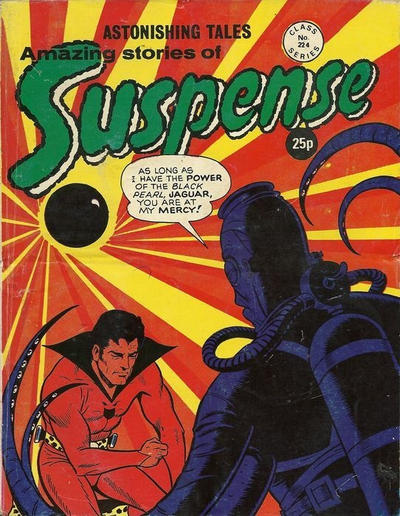 Cover for Amazing Stories of Suspense (Alan Class, 1963 series) #224