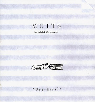 Cover for Mutts (Andrews McMeel, 1996 series) #9 - Dog-Eared
