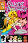 Cover for Silver Surfer (Marvel, 1987 series) #1 [Direct]