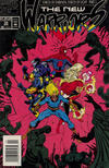Cover for The New Warriors (Marvel, 1990 series) #34 [Newsstand]