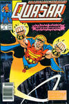 Cover for Quasar (Marvel, 1989 series) #1 [Newsstand]