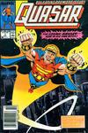 Cover Thumbnail for Quasar (1989 series) #1 [Newsstand]