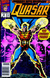 Cover for Quasar (Marvel, 1989 series) #16 [Newsstand]