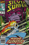 Cover Thumbnail for Silver Surfer (1987 series) #51 [Newsstand]