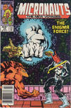 Cover for Micronauts (Marvel, 1984 series) #10 [Newsstand]