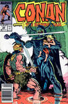 Cover for Conan the Barbarian (Marvel, 1970 series) #198 [Newsstand]