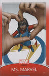 Cover for Ms. Marvel (Marvel, 2016 series) #25 [John Tyler Christopher Trading Card Cover]