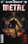 Cover for Dark Nights: Metal (DC, 2017 series) #1 [Greg Capullo / Jonathan Glapion Midnight Release Color Cover]