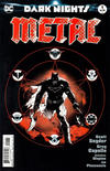 Cover Thumbnail for Dark Nights: Metal (2017 series) #1 [Greg Capullo / Jonathan Glapion Midnight Release Black and White Cover]
