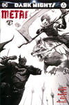 Cover for Dark Nights: Metal (DC, 2017 series) #1 [Exclusive Francesco Mattina Black and White Cover]