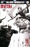 Cover Thumbnail for Dark Nights: Metal (2017 series) #1 [Retailer Exclusive Francesco Mattina Black and White Cover]