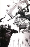 Cover for Dark Nights: Metal (DC, 2017 series) #1 [Exclusive Francesco Mattina Black and White Virgin Cover]
