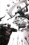 Cover Thumbnail for Dark Nights: Metal (2017 series) #1 [Retailer Exclusive Francesco Mattina Virgin Black and White Cover]