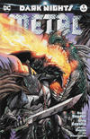 Cover Thumbnail for Dark Nights: Metal (2017 series) #1 [Unknown Comics Exclusive Tyler Kirkham Batman Cover]