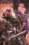 Cover Thumbnail for Dark Nights: Metal (2017 series) #1 [Unknown Comics Exclusive Tyler Kirkham Batman & Wonder Woman Virgin Cover]
