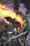 Cover for Dark Nights: Metal (DC, 2017 series) #1 [Unknown Comics Tyler Kirkham Batman Virgin Cover]