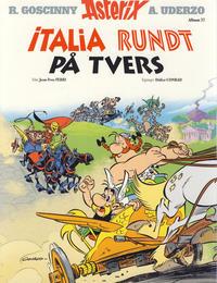 Cover Thumbnail for Asterix (Hjemmet / Egmont, 1969 series) #37 - Italia rundt på tvers [Bokhandelutgave]