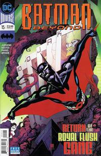 Cover Thumbnail for Batman Beyond (DC, 2016 series) #15