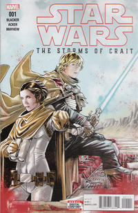 Cover Thumbnail for Star Wars: The Last Jedi - The Storms of Crait (Marvel, 2018 series)