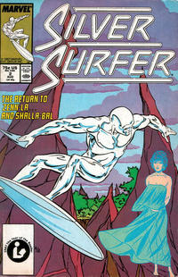 Cover Thumbnail for Silver Surfer (Marvel, 1987 series) #2 [Direct]
