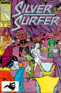 Cover Thumbnail for Silver Surfer (Marvel, 1987 series) #4 [Direct]