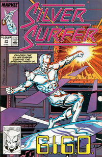Cover Thumbnail for Silver Surfer (Marvel, 1987 series) #24 [Direct]