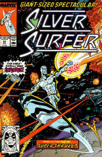 Cover Thumbnail for Silver Surfer (Marvel, 1987 series) #25 [Direct]