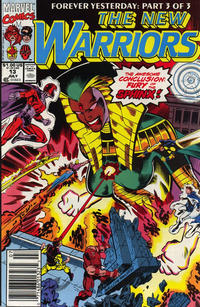 Cover Thumbnail for The New Warriors (Marvel, 1990 series) #13 [Newsstand]
